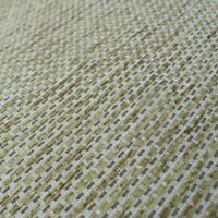 Mobus Egypt Lime Green Block Weave Chenille Textured Basket Upholstery Fabric