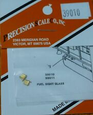 Precision Scale HO #39010 Sight Glass, for: Fuel Tank (Brass Casting Parts)