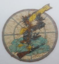 """WW2 527th Fighter Squadron """"Invaders"""" LEATHER Patch Named Collection German POW"""