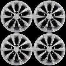 "4 2015 2016 2017 Toyota Camry 16"" Wheel Covers Hub Caps Full Hubs fit Steel Rim"