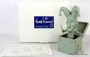 Disney's WDCC JACK-IN-THE-BOX L.E. 841/1000 MINT MAQUETTE FANTASIA 2000 COA