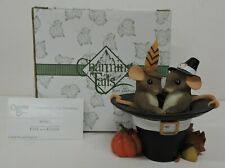 Fitz & Floyd Charming Tails Thankful For Your Friendship Figurine 85/523