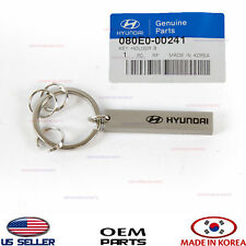 "KEYCHAIN ""HYUNDAI"" ACCESSORY KEY HOLDERS TRINKET HYUNDAI GENUINE!! 080E000241"