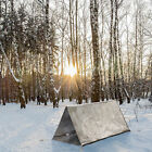 2 Persons Tube Tent Emergency Survival Hiking Camping Shelter Outdoor Portable R