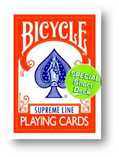 Bicycle - Supreme Line - Short Deck - Red back Poker Kartentrick
