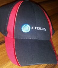 crown Audio CAP Black Cotton Low Profile embroidered Logo amplifier baseball
