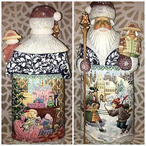 G. Debrekht  Santa Nutcracker Puppet 42/150 Limited Edition  Hand Made Russia