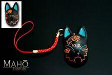 Japanese KITSUNE Fushimi Inari Lucky fortune mascot charm Tori FOX Mask Physalis