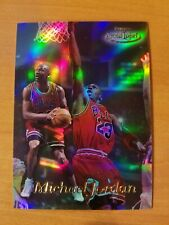 1998-99 Topps Gold Michael Jordan Card # GL1 Refractor Like
