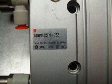 """Smc Mgpm32Tn-75Z Compact; Guide; 32mm Bore; 75mm Stroke; 1/8"""" Npt Ports"""