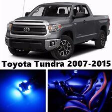 16pcs LED Blue Light Interior Package Kit for Toyota Tundra 2007-2015