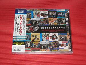 REO SPEEDWAGON JAPANESE SINGLES COLLECTION JAPAN BLU-SPEC CD + DVD