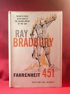 FAHRENHEIT 451  SIGNED by RAY BRADBURY 1st edition trade hardback  LOA w.book