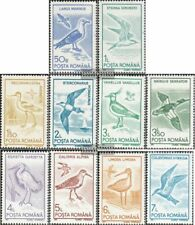 Roumanie 4642-4651 (complète edition) neuf avec gomme originale 1991 Oiseaux