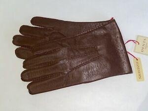 Genuine Dents leather gloves - English Tan imitation peccary - Kent