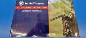 Smith And Wesson Bullseye 13pc Ultimate Throwing Knive Combo Kit