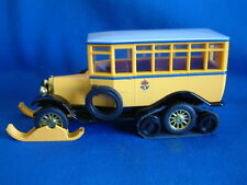 MATCHBOX MODELS OF YESTERYEAR Y16 - 1923 SCANIA VABIS HALF TRACK POST BUS -