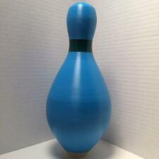 Duckpin Bowling Pin Colored Brand New Blue Duckpin With Green Neck Marker