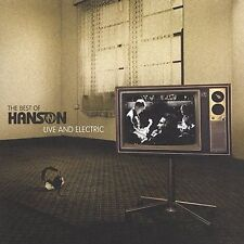 NEW - The Best of Hanson Live and Electric (CD & DVD) by Hanson
