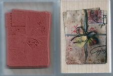 Cartas De Amor-Rubber Stampede 'Cartas de Amor Sello de goma montado de madera