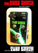TWIN EARTH Deluxe Fuzz Pedal - Nine of Swords Effects. Handcrafted in the UK.
