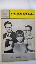 THE APPLE TREE Playbilll BARBARA HARRIS / ALAN ALDA / LARRY BLYDEN Tryout 1966