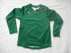 Authentic Nike Baseball Softball Green L/S Practice Hot Jacket Men S TAGS NEW!