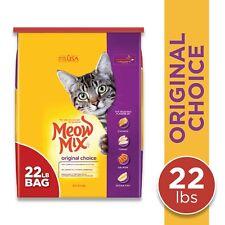Dry Cat Food Meow Mix Original Choice 22lb