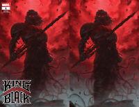 King In Black 1 Marvel 2020 Jeehyung Lee Knull Venom Trade Virgin Set Variant