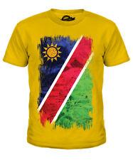 Namibia Grunge Bandera Infantil Camiseta Top Camisa de Fútbol Regalo