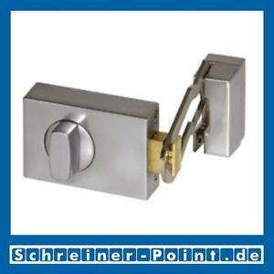 BASI Kastenzusatzschloss mit Sperrbügel Silber / matt verchromt, KS500 1302-0205