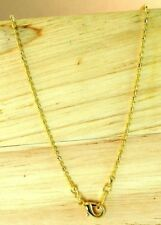 """22K Thai Baht Dp Yellow Gold ~  18"""" Double Beaded Bead Chain Necklace"""