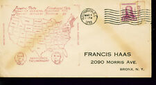 1933 FDR Inauguration Day Cover = DC Cancel = Unknown Cachet Designer