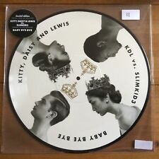 """Kitty,daisy & Lewis - Baby Bye Bye  12"""" Picture Disc"""