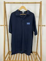 RARE VTG 90s Blockbuster Video Employee Uniform VHS Polo Shirt Size 3XL