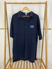 RARE VTG 90s Blockbuster Video Employee Uniform VHS Polo Shirt Size 3XL