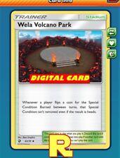 2x Wela Volcano Park - for Pokemon TCG Online (DIGITAL ptcgo in Game Card)