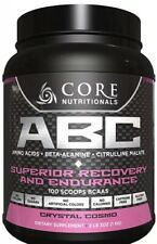 Core Nutritionals ABC Pre-Workout100 Scoops Crystal Cosmo Exp 2/21  Sealed