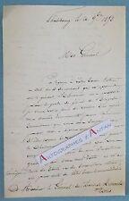 L.A.S 1858 Colonel ?à identifier Général RENAULT 32è Régiment Infanterie Schramm