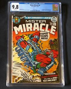 MISTER MIRACLE 6 CGC 9.8 1st Appearance FEMALE FURIES
