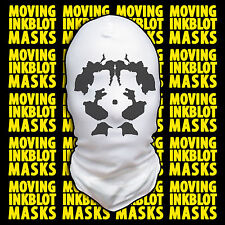 Halloween Costume Rorschach Moving Inkblot Mask - Psychotic