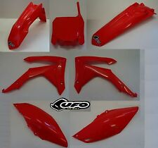 Kit plastiche Plastics kit Ufo Honda CRF 250 2007 Rosso