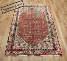 OLD WOOL HAND MADE PERSIAN ORIENTAL FLORAL RUNNER AREA RUG CARPET 190x113CM