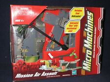 Micro Machines MISSION AIR ASSAULT   Helicopter Play Set  NEW