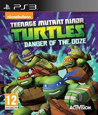 Teenage Mutant Ninja Turtles Danger Of The Ooze PS3 - First Class Delivery FREE