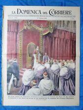 La Domenica del Corriere 27 febbraio 1949 Concistoro Pio XII - Lbia - E.Goering