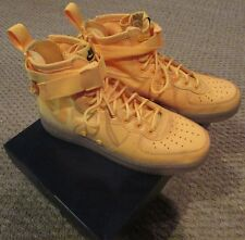 Nike SF AFI1 Mid Laser OBJ Odell Orange Casual Shoes Size 9.5 Original Box