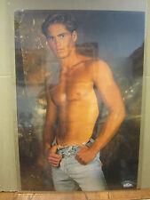 Vintage Frankie B. poster hot guy 3420
