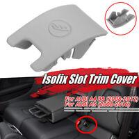 Grigio Posteriore Seggiolino Sicurezza Isofix Cover Per Audi A4 B8 A5 Kn !