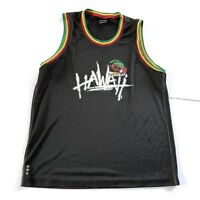 Quiksilver Hawaiian Hawaii Surfing Rasta Tank Top Jersey Mens Size Small